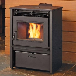 AGP Pellet Stove Travis Industries Avalon