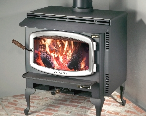 link to rainier fireplace insert product page