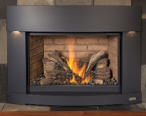 this is a linked image of a FireplaceX 33 D V I gas insert to its product page