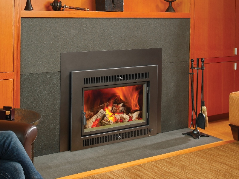 Flush Wood Rochester Fireplace