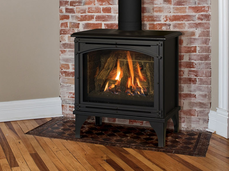 image of the birchwood 20 gas stove made by kozyheat