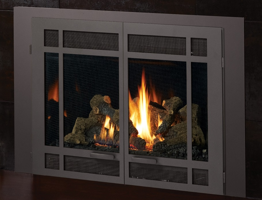 this is a linked image of a FireplaceX 34 DVL gas insert to its product page