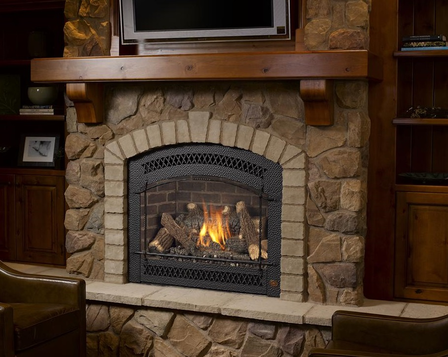 Image Of An Avalon Gas Fireplaces Which Links To Our Gas Fireplace Page.