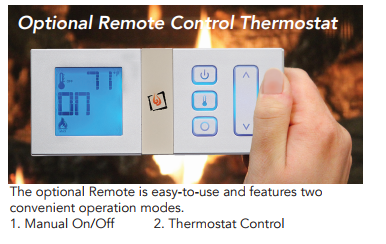 Optional Remote of Radiant Plus