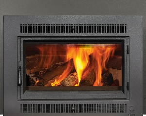 link to Flush Wood fireplace insert product page