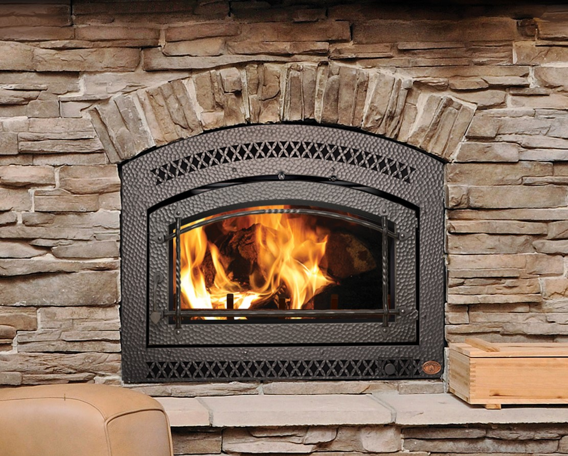 Image of the 36 Elite Fireplace Xtrodinair Wood Fireplace with a link to the product page.