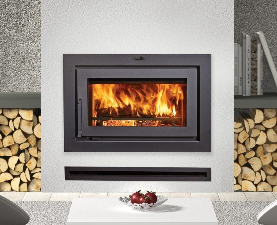 Image of a 42 Apex Clean Face Fireplace Xtrodinair Wood Fireplace with a link to the product page.
